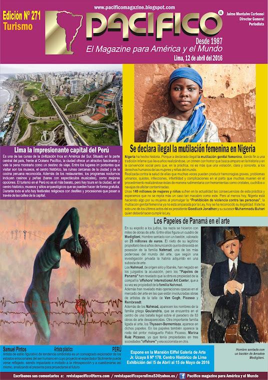 Revista Pacífico Nº 271 Turismo