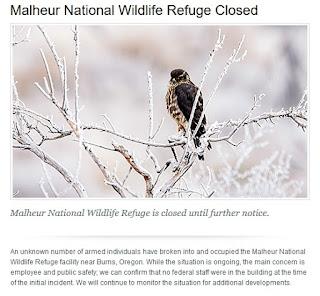 Malheur Alert - U.S. Fish & Wildlife Service