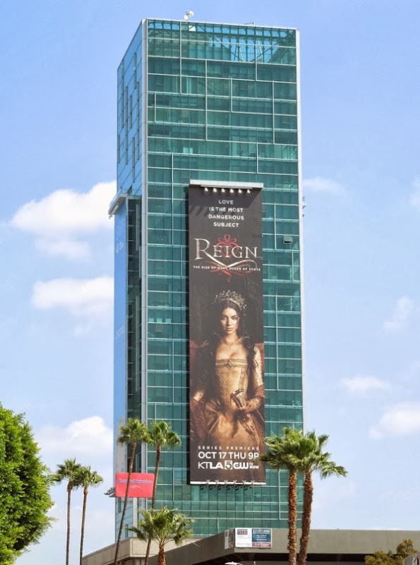 Giant Reign billboard Hollywood