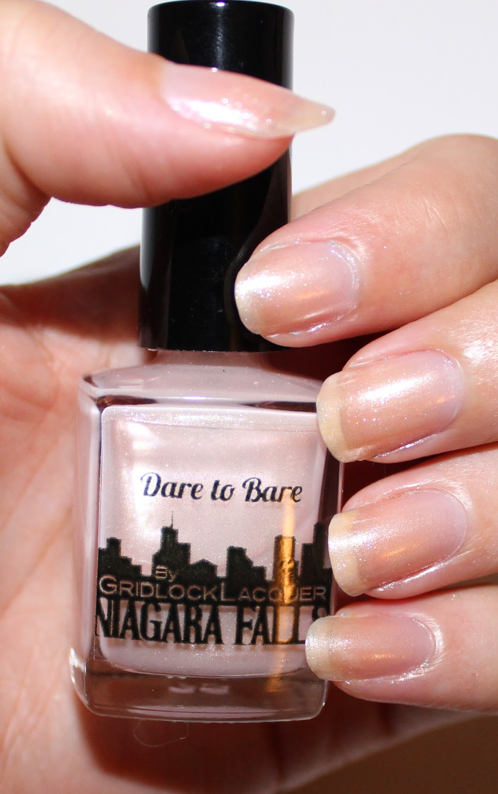 Gridlock Lacquer Dare to Bare