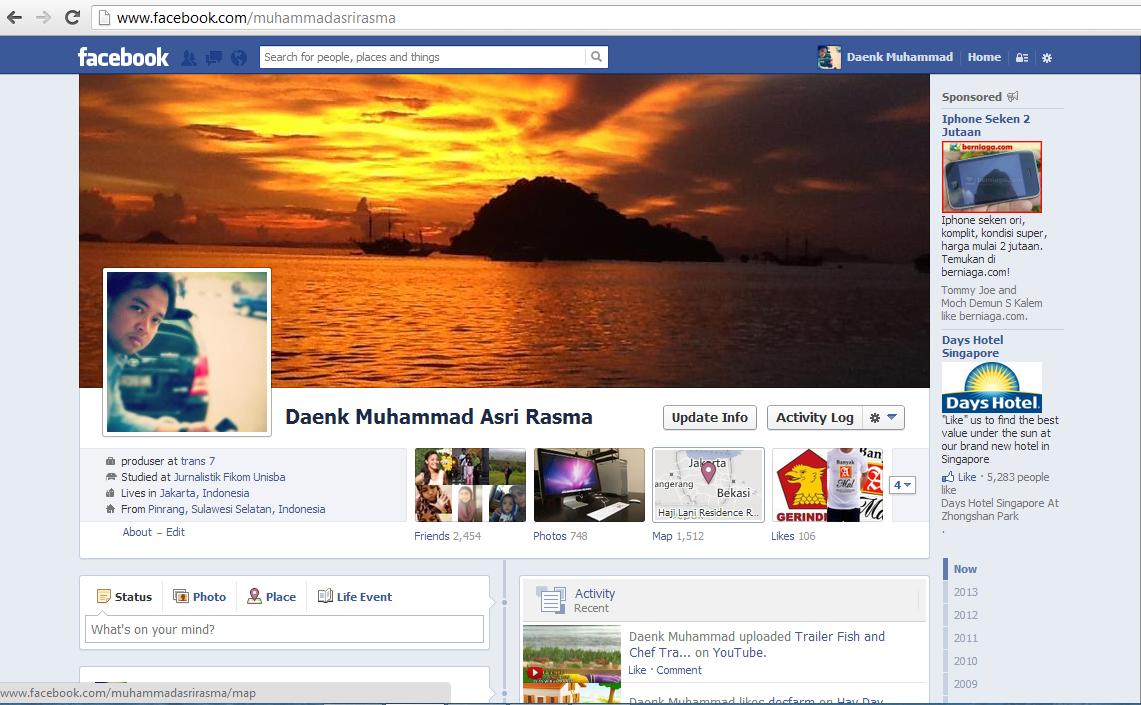 Daenkmar Facebook