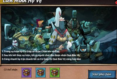 Hướng dẫn tham gia hoạt động Liên Minh Hộ Vệ trong game Lãng Khách