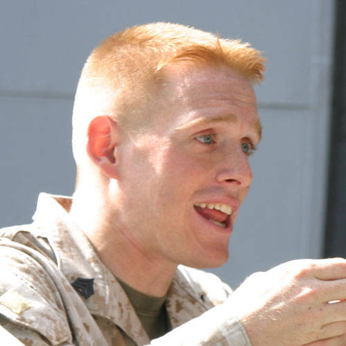 Military haircuts : Ivy league haircut