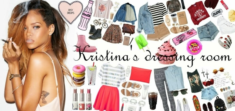 Kristina's dressing room