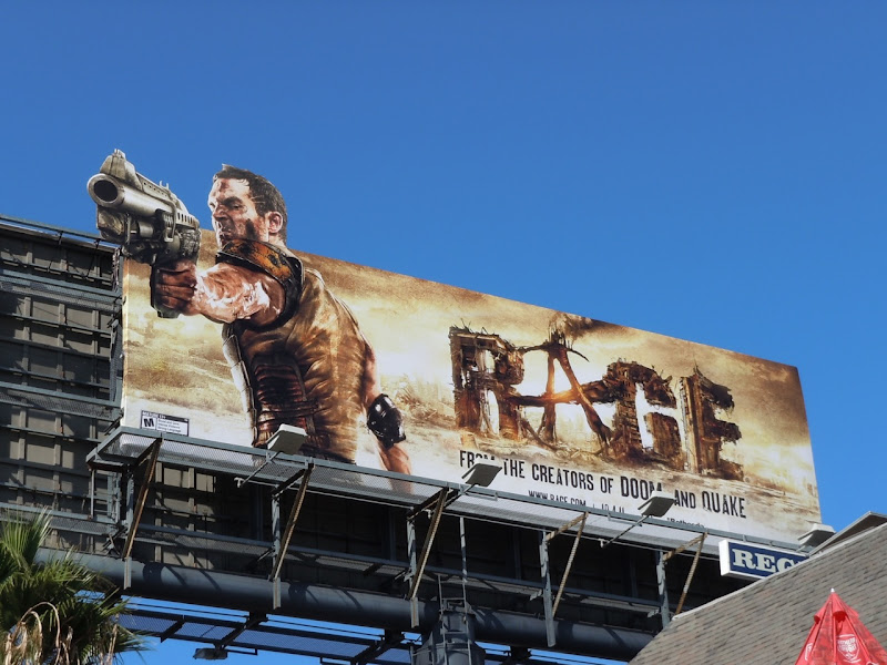 Rage game billboard