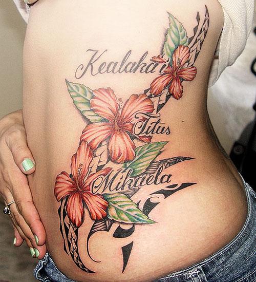 Flower tattoo designs