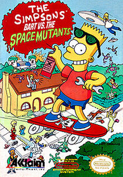Va de Retro 6x04: The Simpsons: Bart vs. The Space Mutants