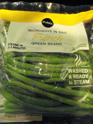 Eclectic Red Barn: Green beans from Publix