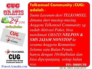 Komunitas CUG Telkomsel Armaila Ponsel