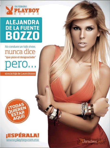 Alejandra de la Fuente Bozzo Revista Playboy Febrero 2013