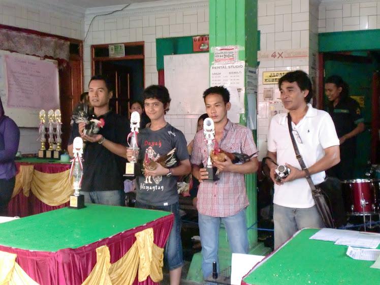 Pembagian Piala Latber PASIR