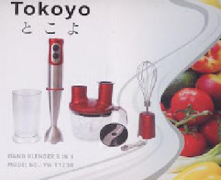 tokoyo hand blender 5 in 1