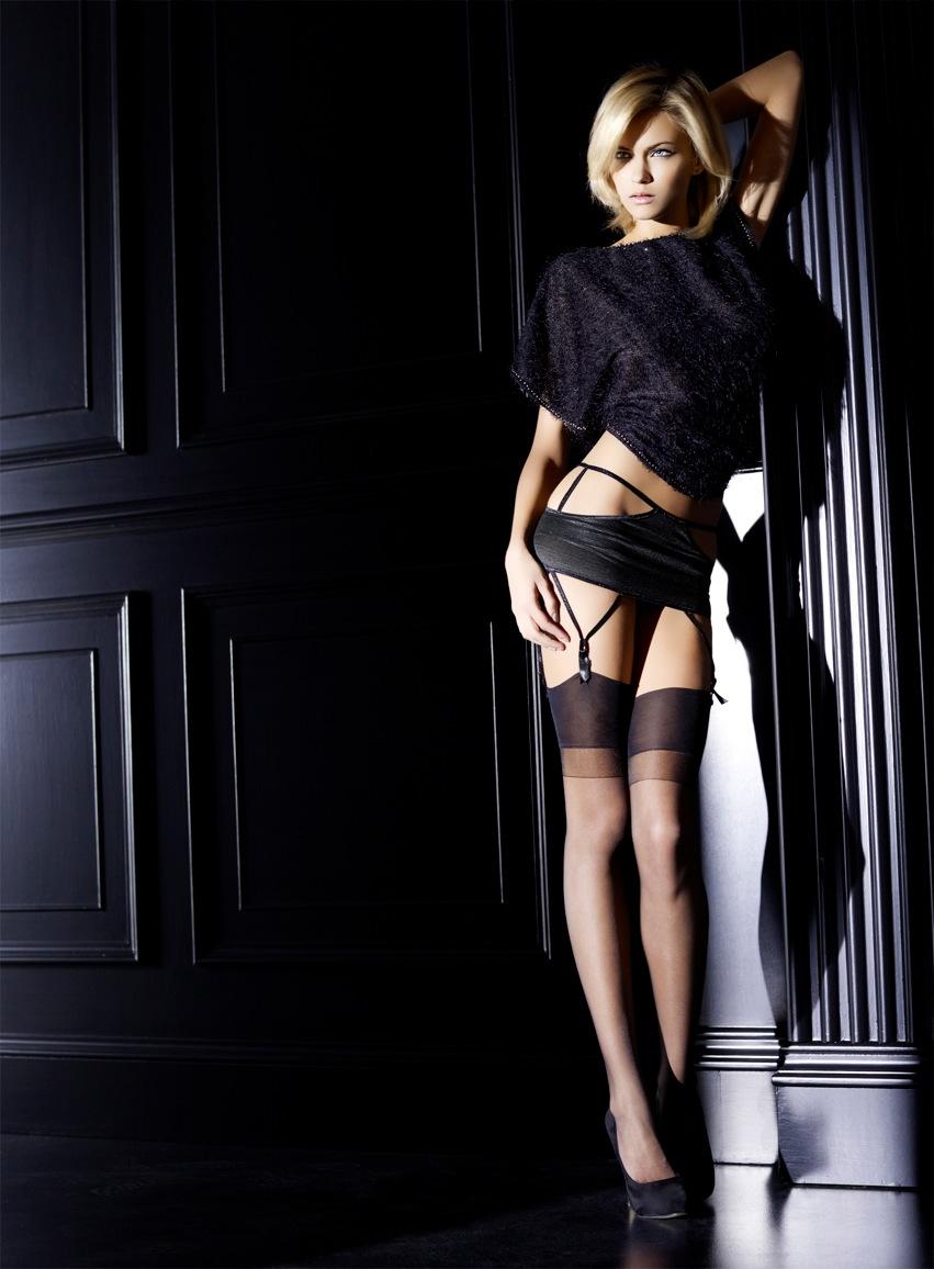 model plus milan: ditta for omero stocking campaignnevio vitali