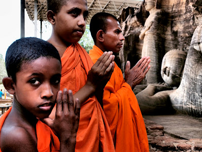 tempio buddista Sri Lanka