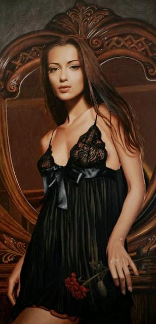 retratos-de mujeres-al-oleo