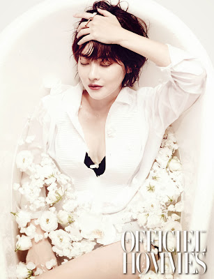 Oh Yeon Seo - L'Officiel Hommes Magazine October Issue 2013