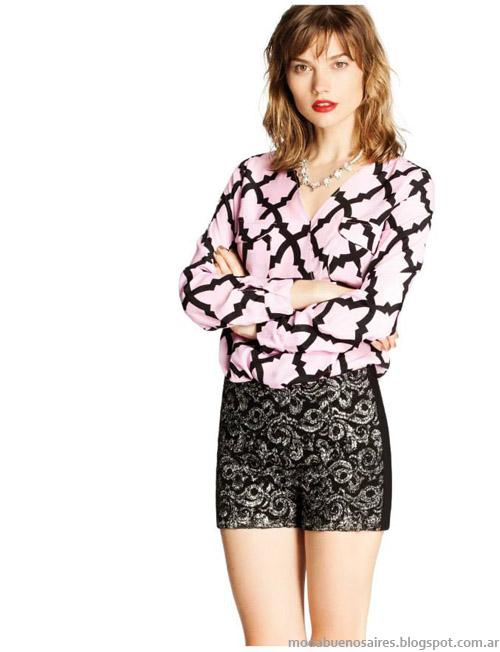 Ceilonia otoño invierno 2014moda blusas y camisas invierno 2014.
