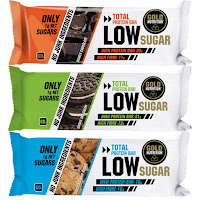 Total Protein Bar Low Sugar Gold Nutrition