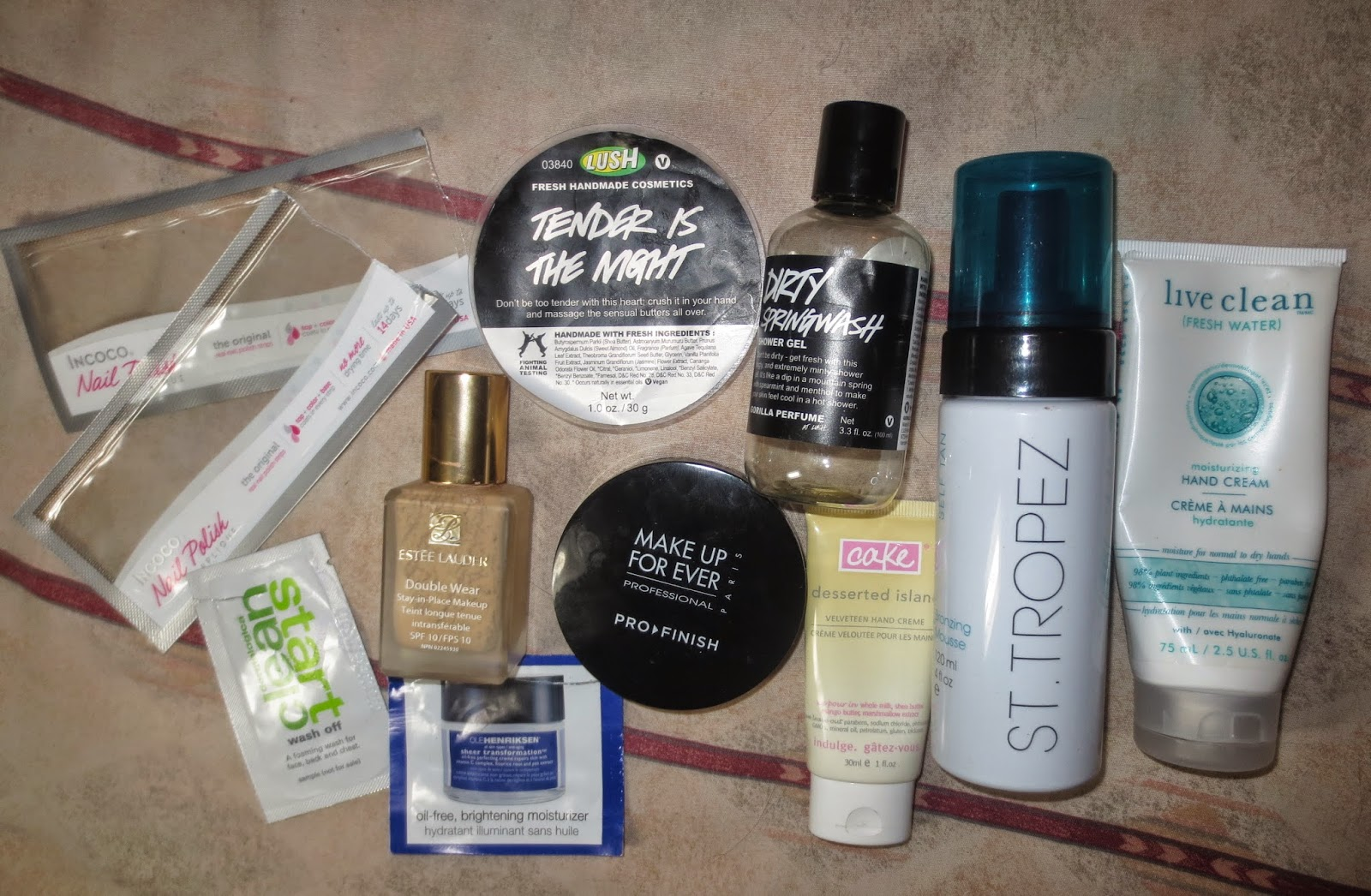 March 2014 Empties