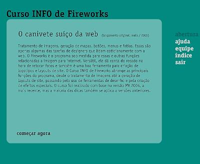 CURSO INFO DE FIREWORKS MX 2004