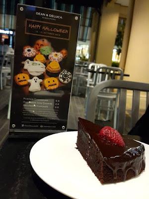 Chocolate Cake at Dean & Deluca