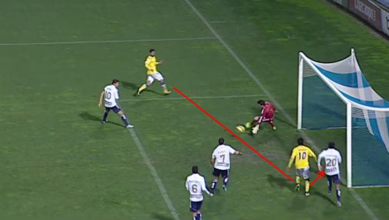 0-4 gol de Araujo