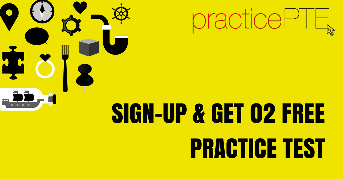 Click for a Free PTE Academic Practice Test