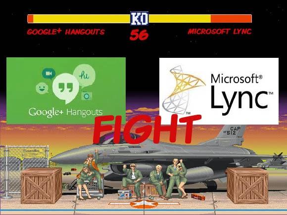 Hangouts vs Lync