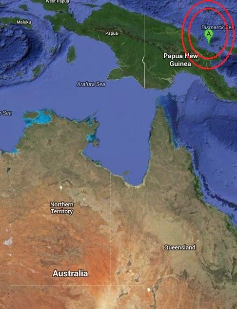Magnitude 5.3 Earthquake of Madang, Papua New Guinea 2014-09-08
