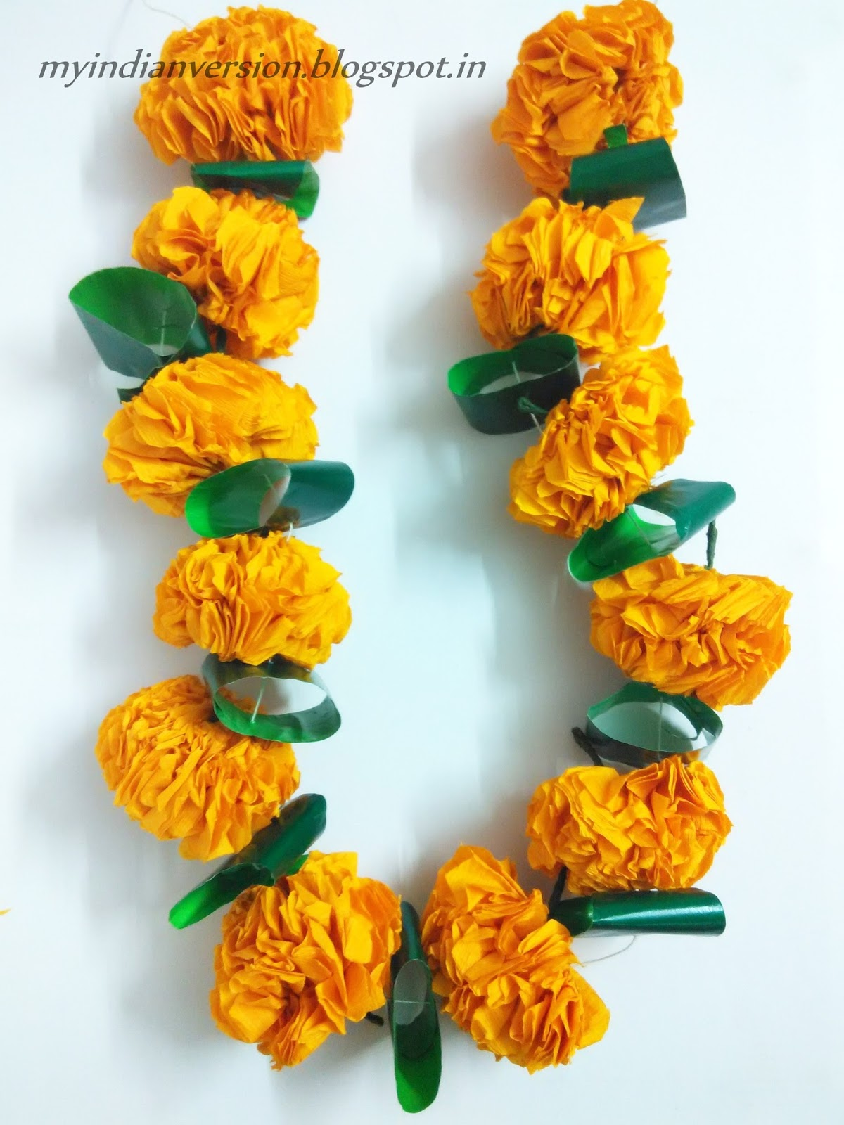 My Indian Version Diwali Series Part 1 Diy Marigold Flower