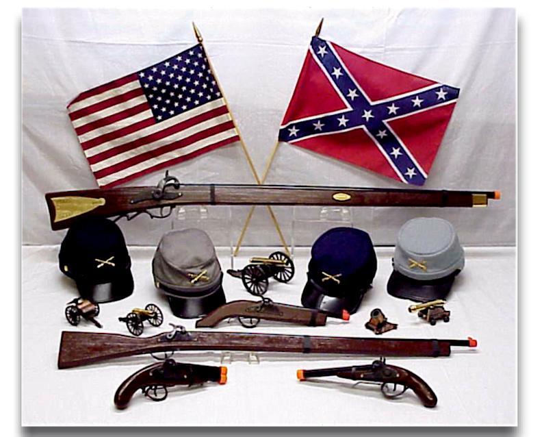 Yankee Civil War War site and The Civil War