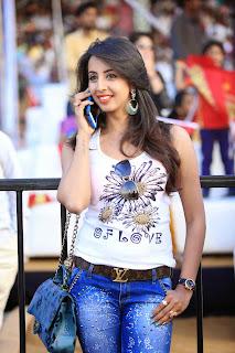 Sanjana Latest Pictures in Jeans at (Celebrity Cricket League) CCL 5 ~ Celebs Next