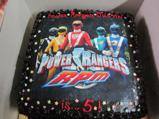 Power Rangers Turned 5 Foodelicious