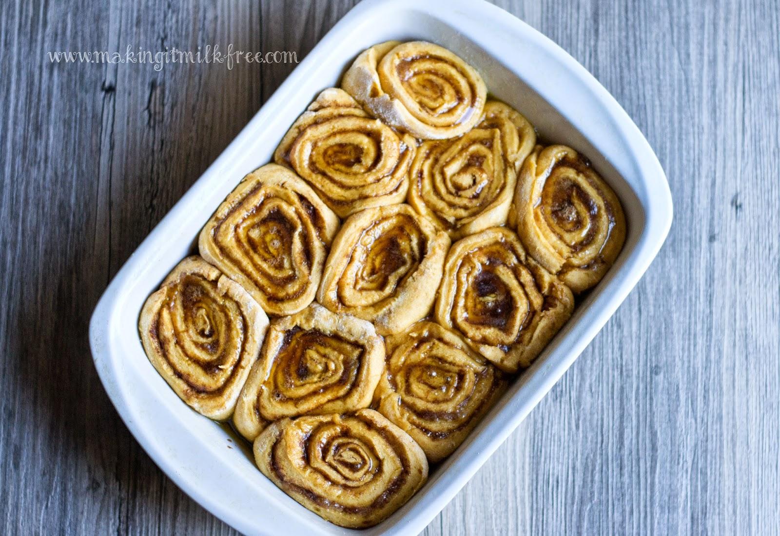 #glutenfree #vegan #pumpkin #cinnamon_rolls