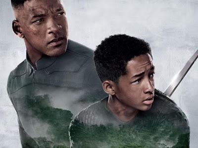 Will Smith y su hijo Jaden en nuevo cartel de After Earth