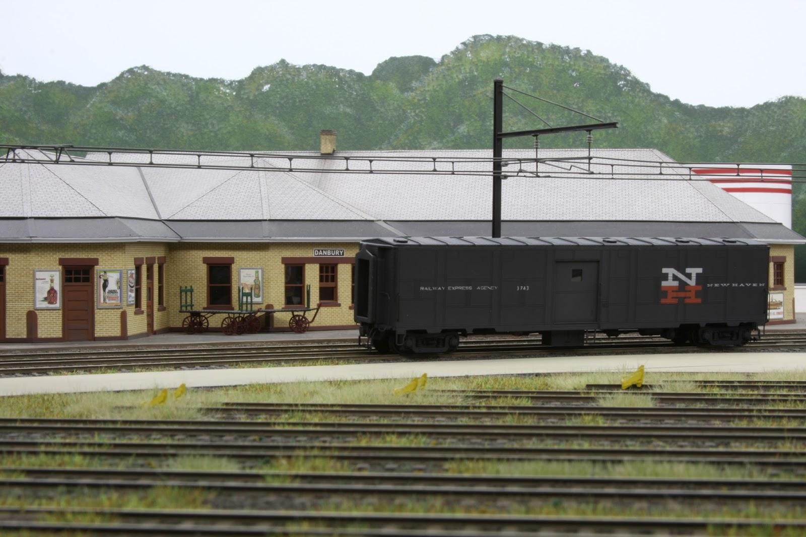 Signal Station 199 Troop Sleeper Baggage Car