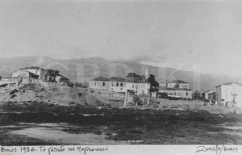 Ο λόφος των Αγ. Θεοδώρων και το γήπεδο του Μαγνησιακού
