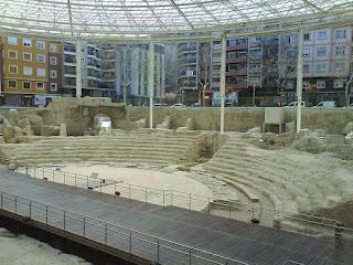teatro romano de Caesaraugusta Zaragoza