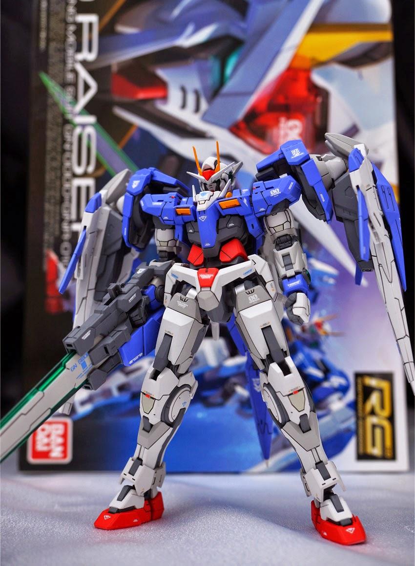 Gundam Guy Rg 1 144 00 Raiser Painted Build