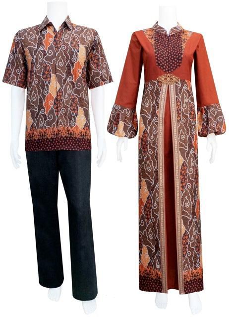 Model Batik sarimbit katun