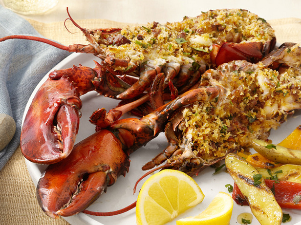 My Favorite Things: Deviled Portuguese Grilled Lobsters