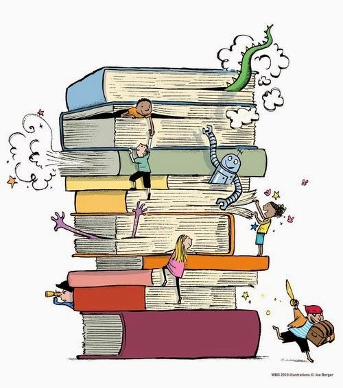 Leitura, paraíso da fantasia
