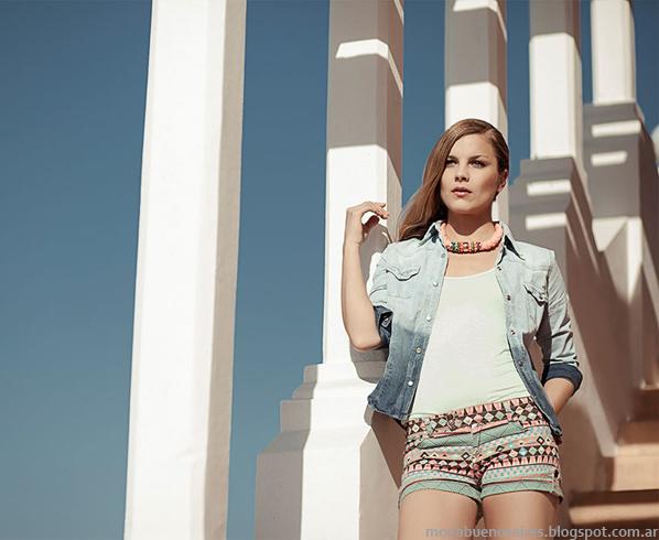 Oshum verano 2014 moda mujer.