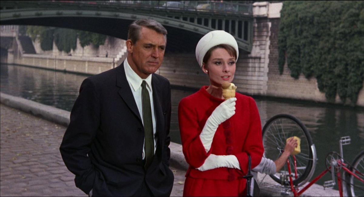 Audry Hepburn en Charada