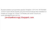 Petronas Johor Kerja Kosong