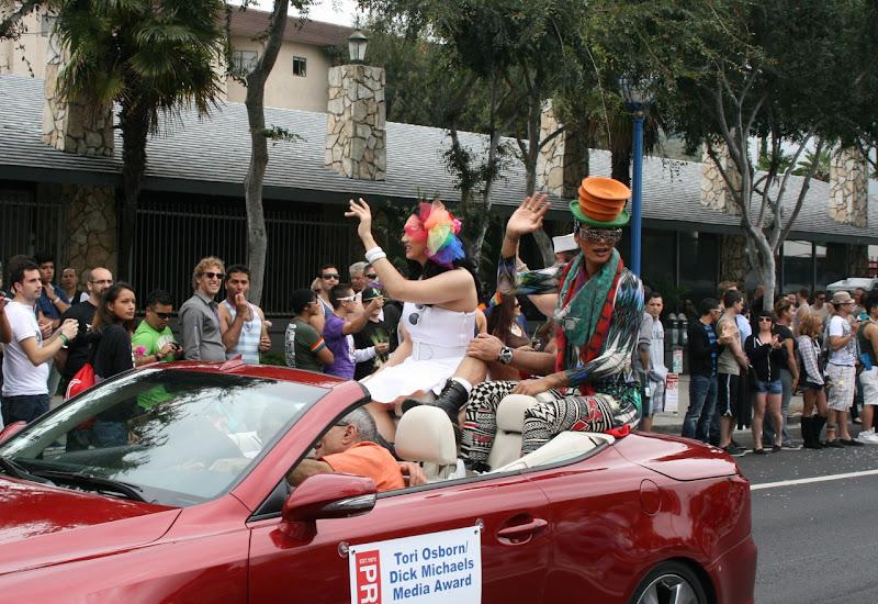 Drag Race Winner Raja WEHO Pride Parade