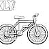 Desenhos de Bicicleta para Colorir