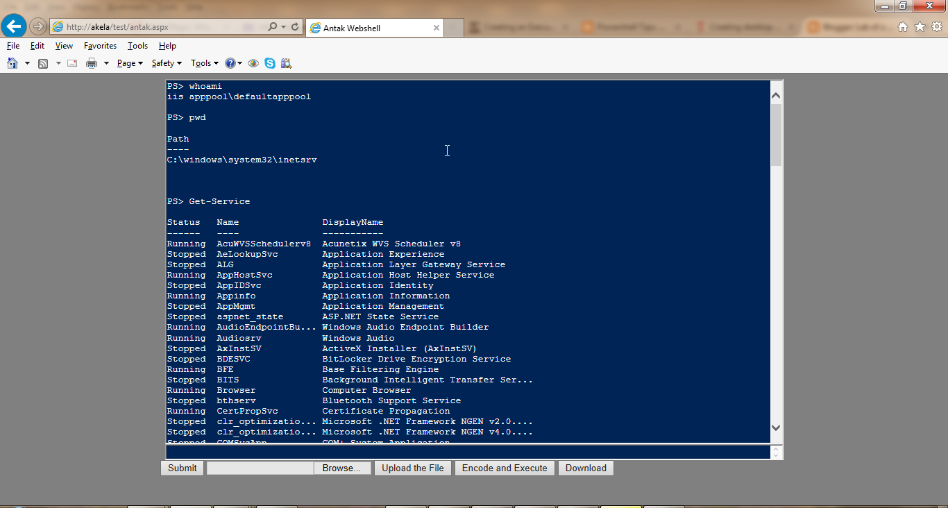 powershell penetration testing