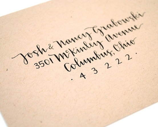 Sugar and chic modern calligraphy