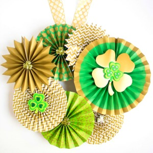 The prettiest St. Pat's wreath!